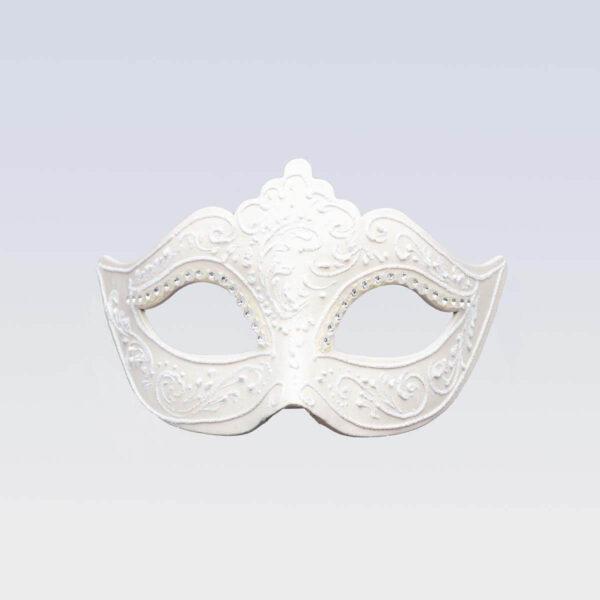 Colombina Masque - Total Blanc - Masque Vénitien