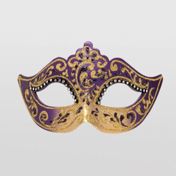 Colombina Mask - Violet Color - Venetian Mask