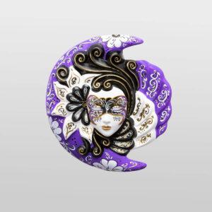Eclissi - Moyen - Violet - Masque Vénitien