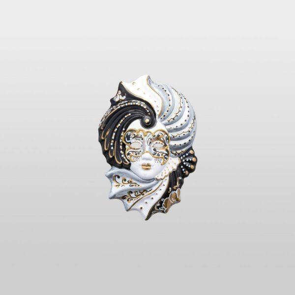 Giada Extra Small - Argento - Maschera Veneziana