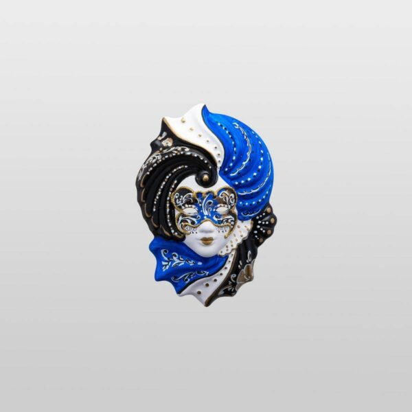 Giada Extra Small Blue - Venetian Mask