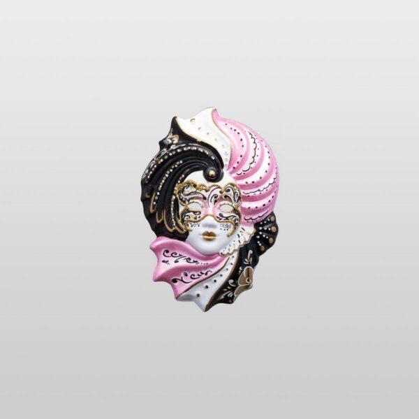 Giada Extra Small - Rosa - Maschera Veneziana