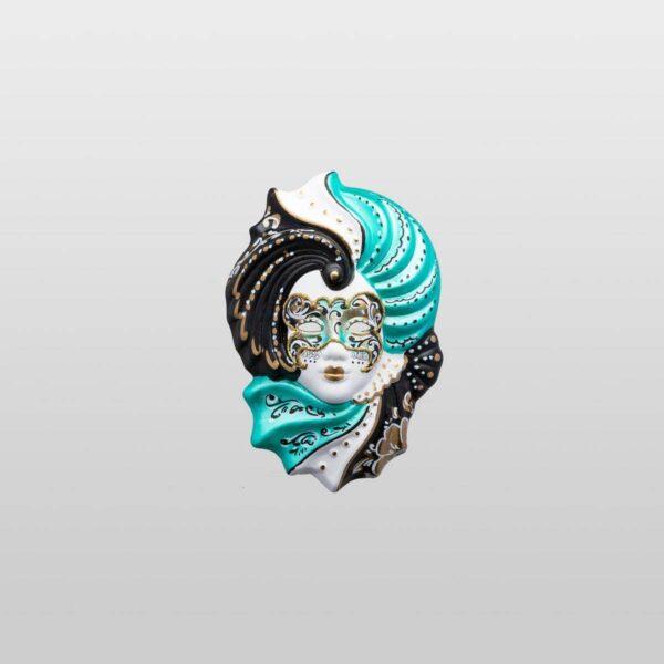Giada Extra Small - Verde - Maschera Veneziana