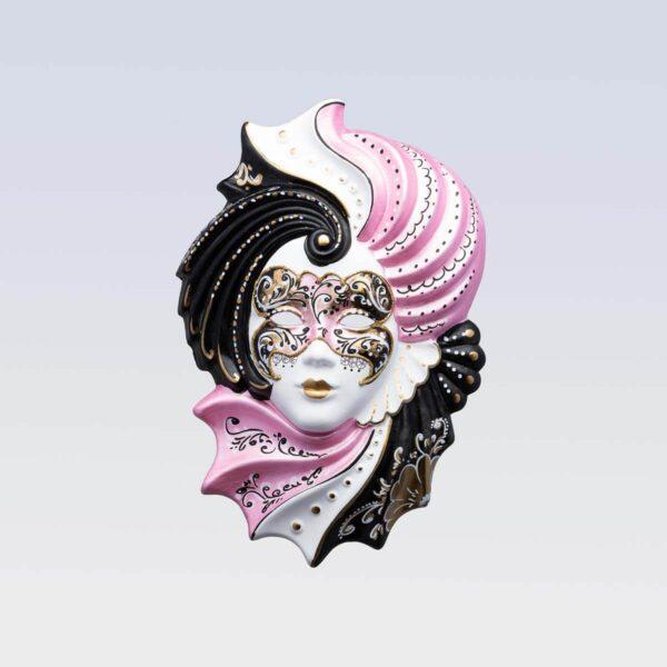 Giada Medium Pink - Venetian Mask