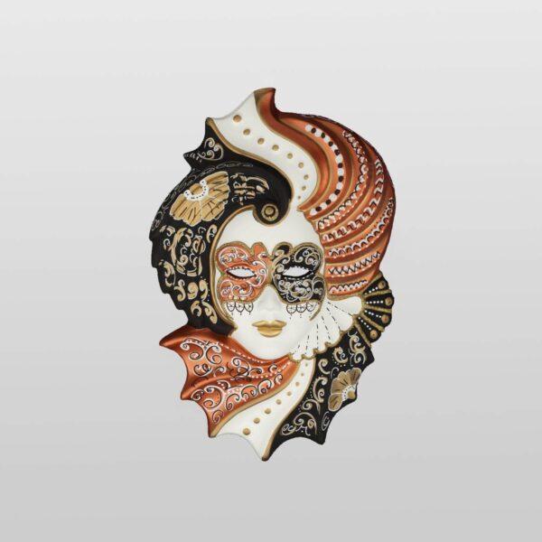 Giada Small - Bronze Color - Venetian Mask