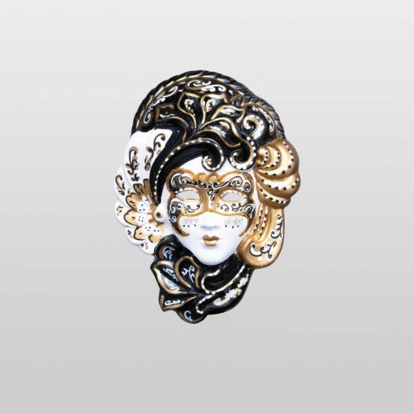 Iris Gold - Extra Small Size - Venetian Mask