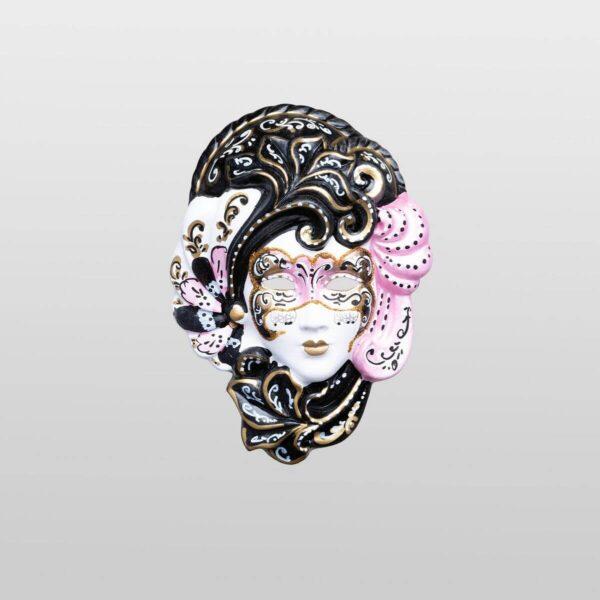 Iris - Extra Klein - Pink - Venezianische Maske