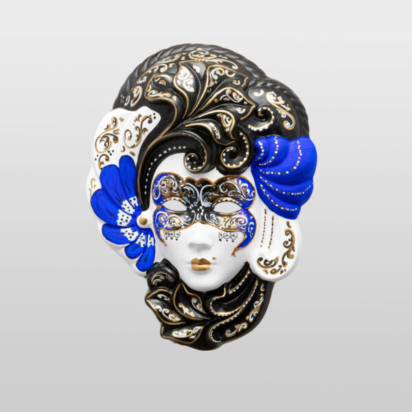 Iris Medium Blue - Venetian Mask