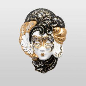 Iris Medium Gold - Venetian Mask