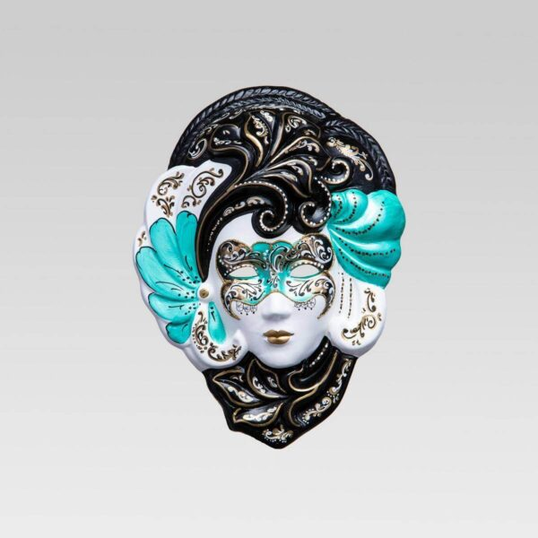 Iris Medium Green - Venetian Mask