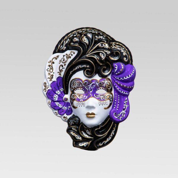 Iris Medium Violet - Venetian Mask