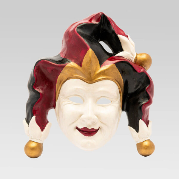 Maschera Veneziana Jolly Pon Pon