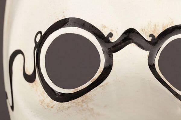 Plague Doctor - Detail 2 - Venetian Mask