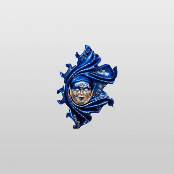 Saamira Extra Small Blue - Venetian Mask
