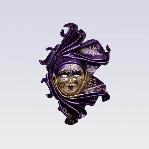 Saamira - Mediana - Violeta - Máscara Veneciana