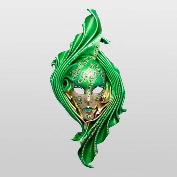 Safi - Large - Verde - Maschera Veneziana