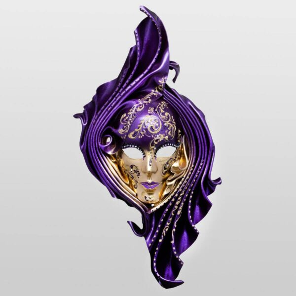 Safi - Large - Viola - Maschera Veneziana