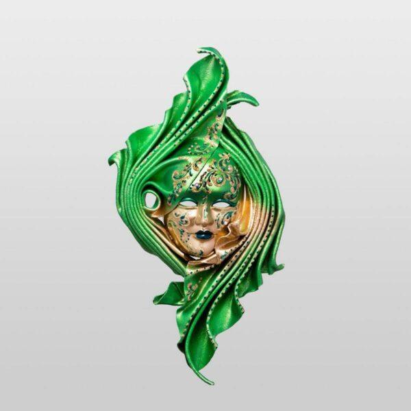 Safi Medium Green - Venetian Mask