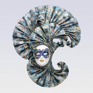 Ventolina Large - Zodiac Style - Venetian Mask