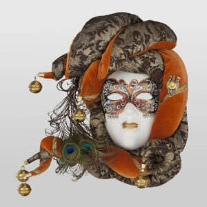 Velluto Large - Tobac Color - Venetian Mask