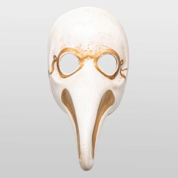 Plague Doctor - Gold- Venetian Mask