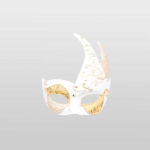 Colombina Cigno - Bianca Musica - Venetian Mask