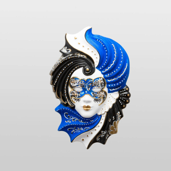 Giada Medium Blue - Venetian Mask