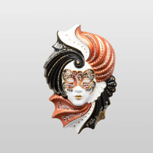 Giada Medium Bronze - Venetian Mask