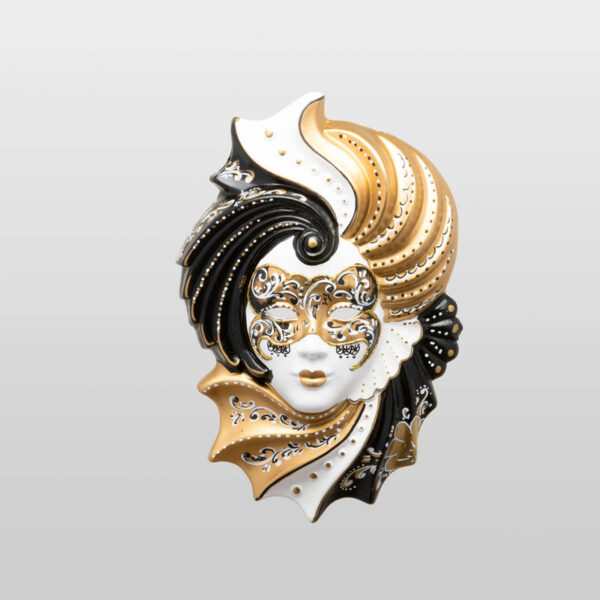 Giada Medium Gold - Venetian Mask
