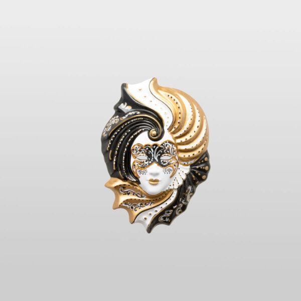Giada Small - Gold Color - Venetian Mask