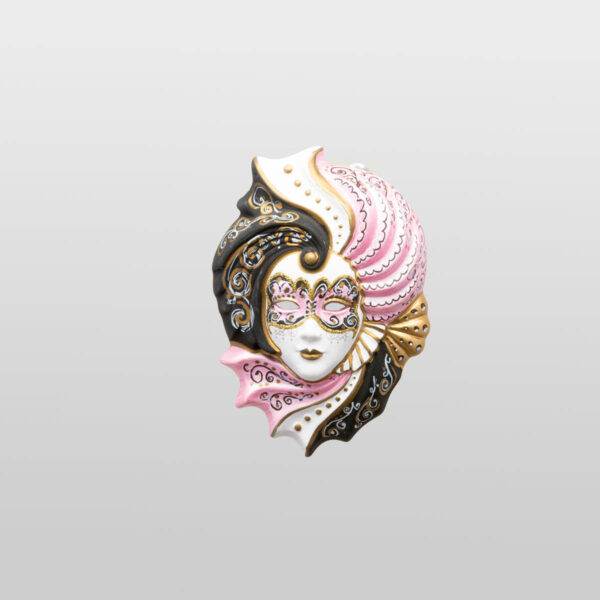 Giada Small - Pink Color - Venetian Mask