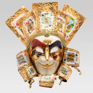 Jolly Uomo Carte - Large - Maschera Veneziana