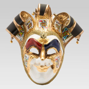 Jolly Uomo Taroc with Six Tips - Large Size - Venetian Mask