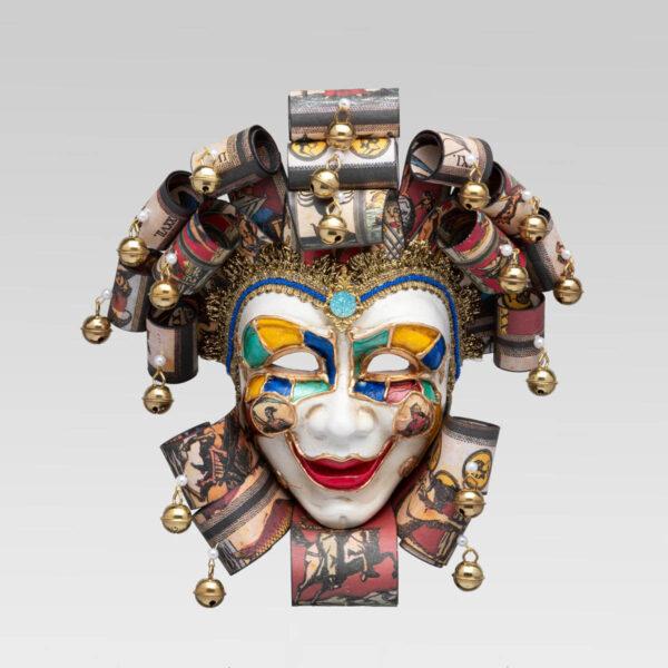 Jolly Buffo Ceramica Ricci - Tarot Style - Venetian Mask