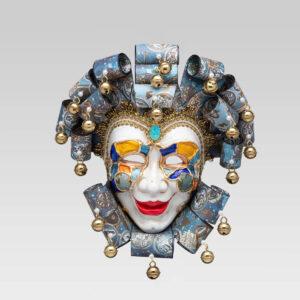 Jolly Buffo Ceramica Ricci - Zodiac Style - Venetian Mask