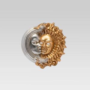 Sole Luna Accademia - Pequeña - Máscara veneciana