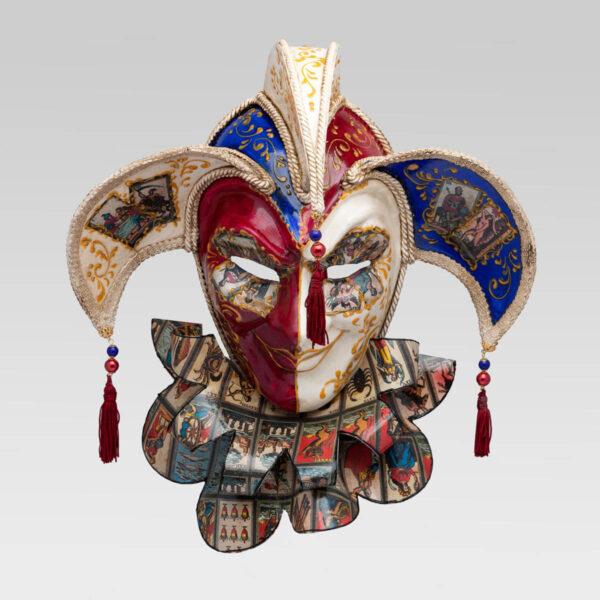 Tricorno con Bavero - Tarot Style - Venetian Mask
