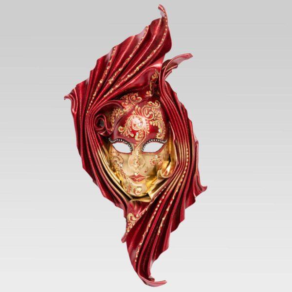 Safi - Large - Rossa - Maschera Veneziana