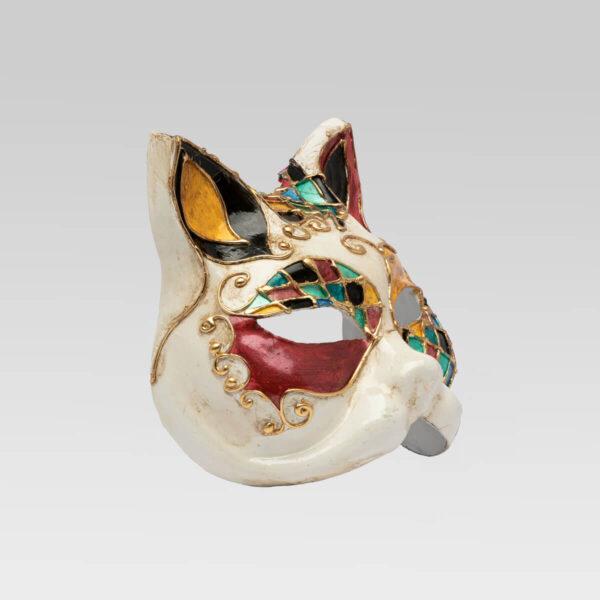 Gatto Ralfh - Detail 1 - Venetian Mask