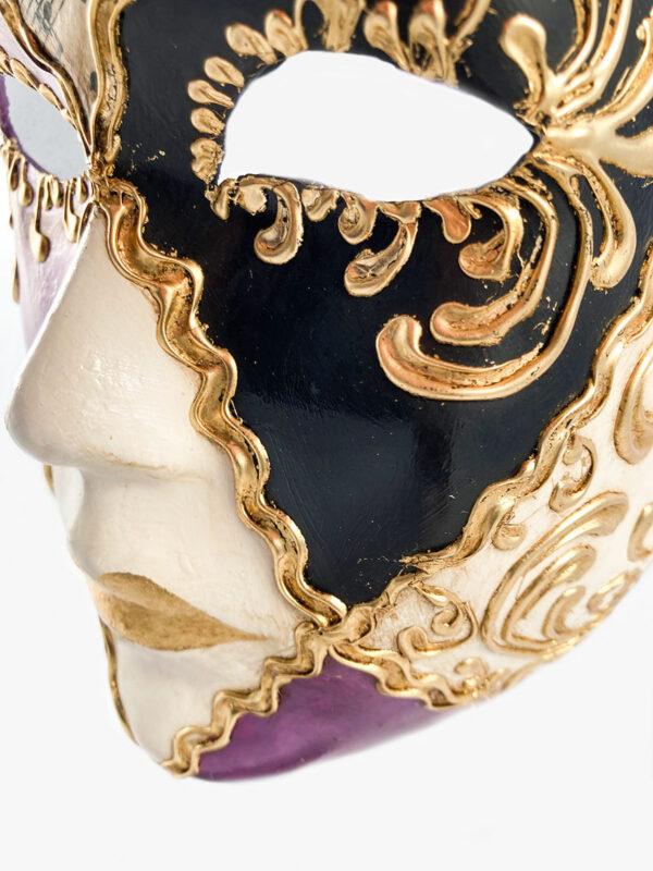 volto_quadri_musica_viola_nero_mask_carnival_venetian_original_LCP085_1