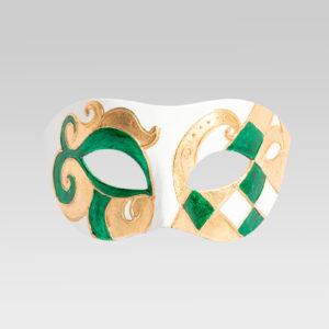 colombina_linea_venezia_verde_carnival_venice_mask _handmade_in_Italy_LCP092