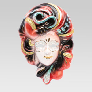 belle_epoque_grande_handmade_ceramic_mask_made_in_italy_TGEQ2-ROSSO