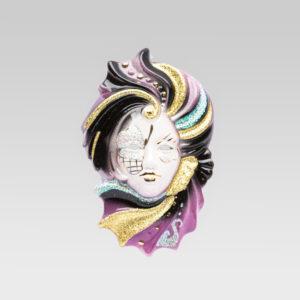sara_media_ceramic_original_handmade_mask_TGSR1-VIOLA